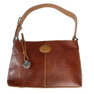 Sharif ♥︎ Crocodile Leather Bucket Bag ♥︎ Cognac